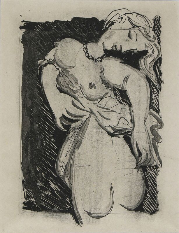 """Pablo Picasso, 'La Puce (Marie-Thérèse), """"The Flea""""', 1936 -1942, Drawing, Collage or other Work on Paper, Etching and aquatint on Chinese paper, Galerie Jean-François Cazeau"""