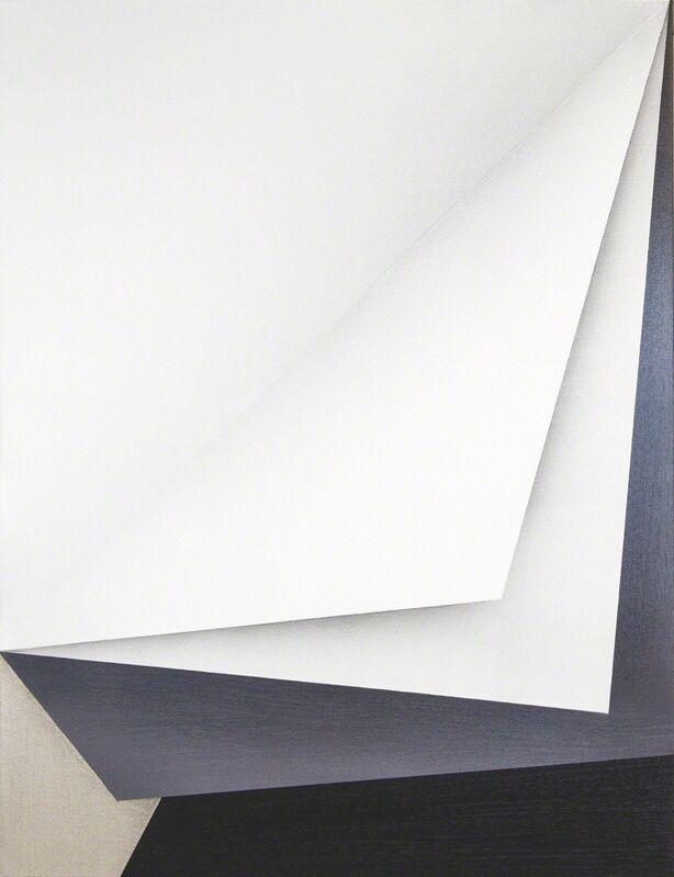Ira Svobodová, 'Papercut 13', 2015, Painting, Acrylic on linen, River