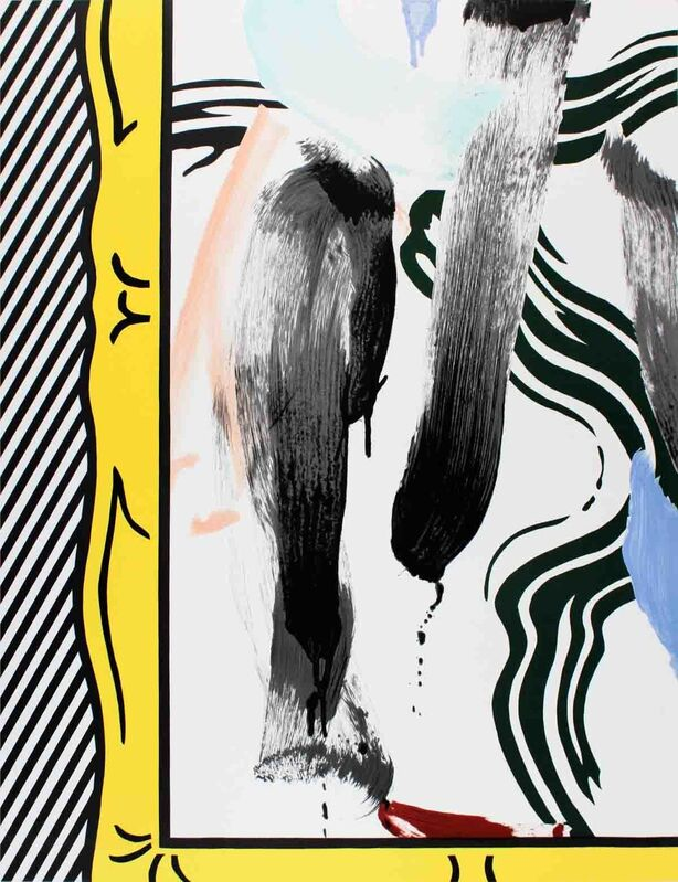 Roy Lichtenstein, 'Brushstrokes', 1983, Ephemera or Merchandise, Lithograph, ArtWise