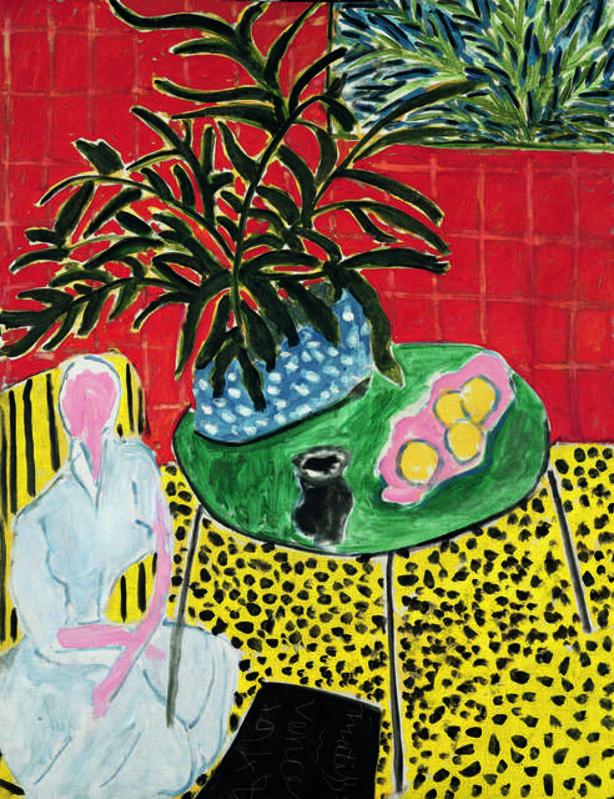 Henri Matisse, 'Intérieur à la fougère noire (Interior with Black Fern)', 1948, Painting, Oil on canvas, Fondation Beyeler