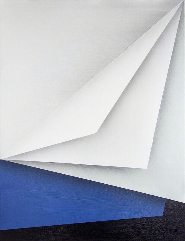 Ira Svobodová, 'Papercut 33', 2015, Painting, Acrylic on linen, River