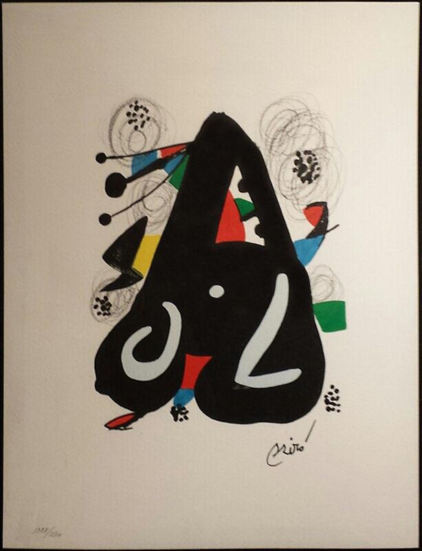 Joan Miró, 'Untitled (La Mélodie Acide, M.1220)', 1980, Print, Lithograph, Martin Lawrence Galleries