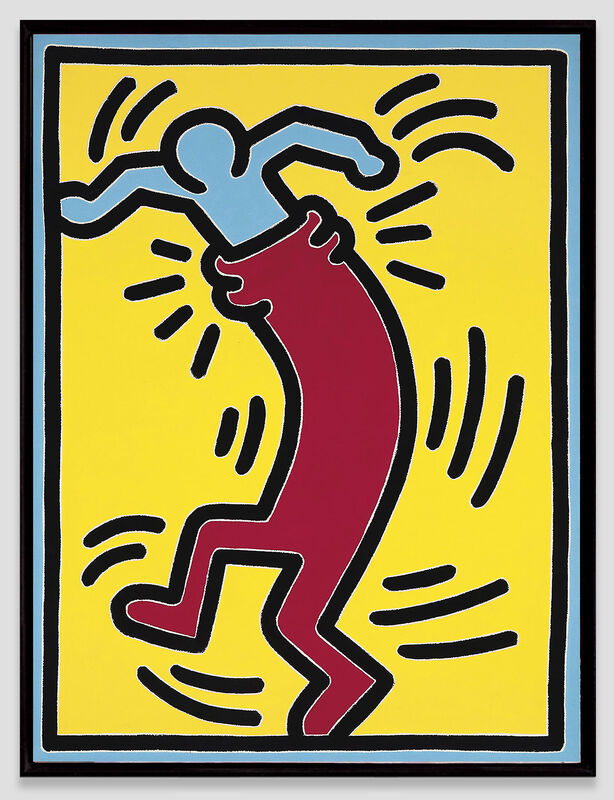 Keith Haring, 'Untitled', 1988, Painting, Acrylic on canvas, Opera Gallery