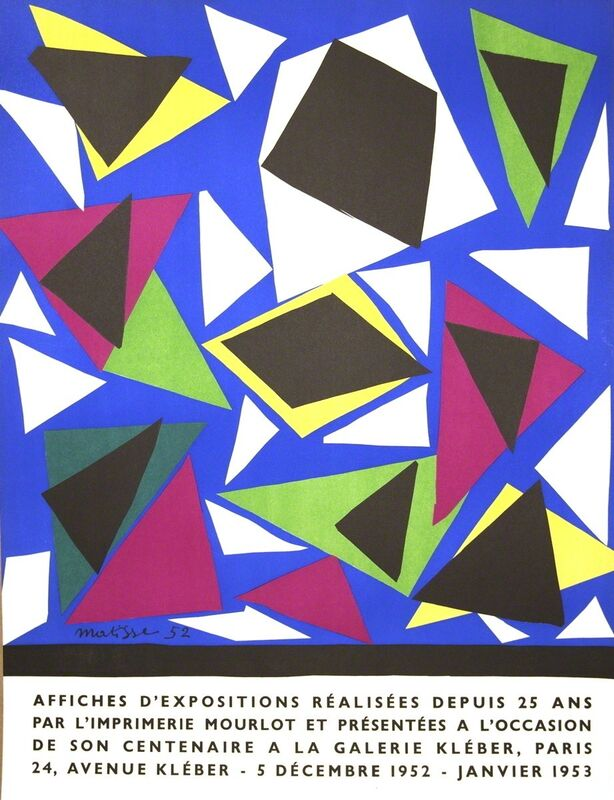 Henri Matisse, 'Affiches d'exposition', 1952, Print, Stone Lithograph, ArtWise