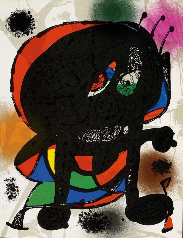 Joan Miró, 'Untitled (Lithographe III, M.1115)', 1977, Print, Lithograph, Martin Lawrence Galleries