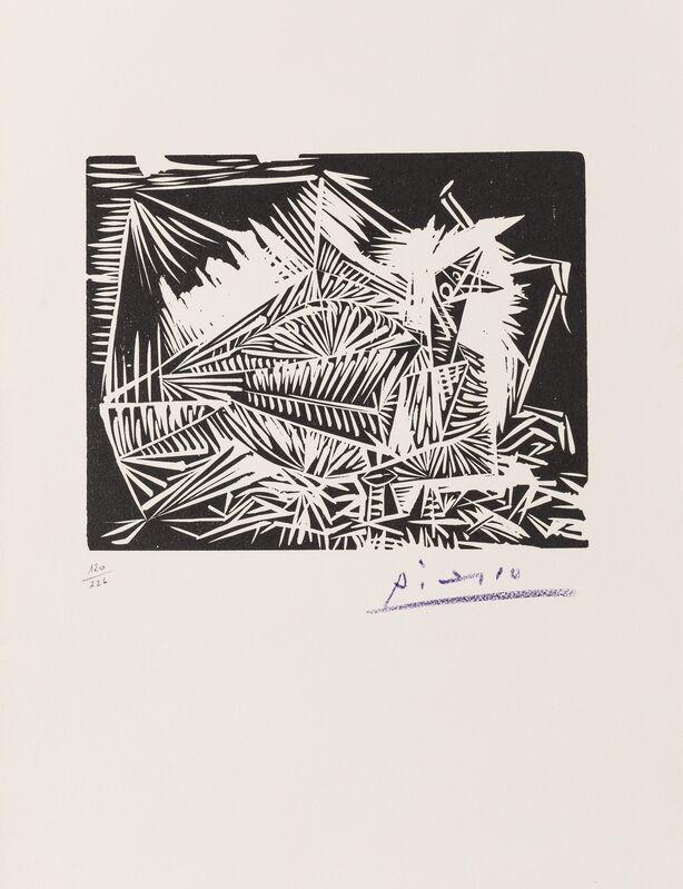 Pablo Picasso, 'Pigeonneau (Bloch 326, Cramer 84)', Print, Linocut, Forum Auctions