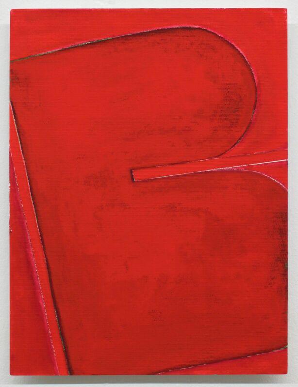 Lutz Driessen, 'Untitled', 2012, Painting, Oil on wood, Hammelehle und Ahrens