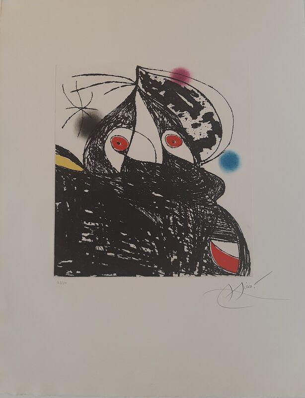 Joan Miró, 'Personnage Romantique', 1975, Print, Galeria Cortina