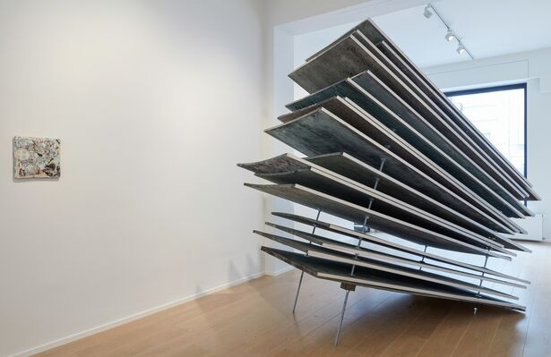 drifts (there is always ground, even at night), installation view