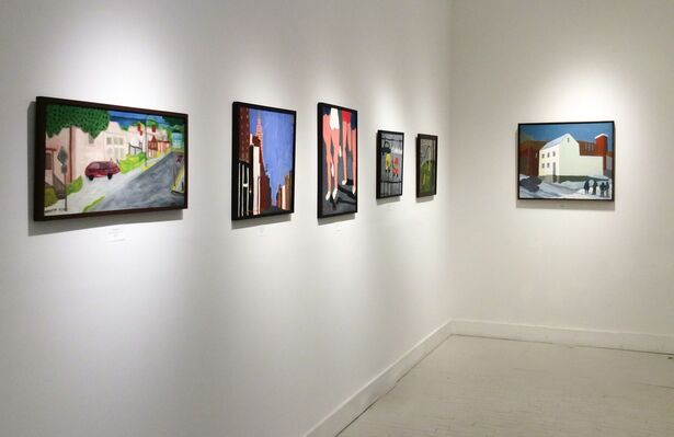 Painted Cities, installation view