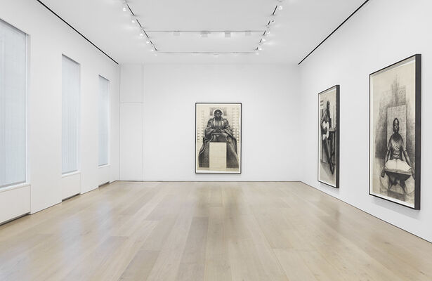 Charles White: Monumental Practice, installation view