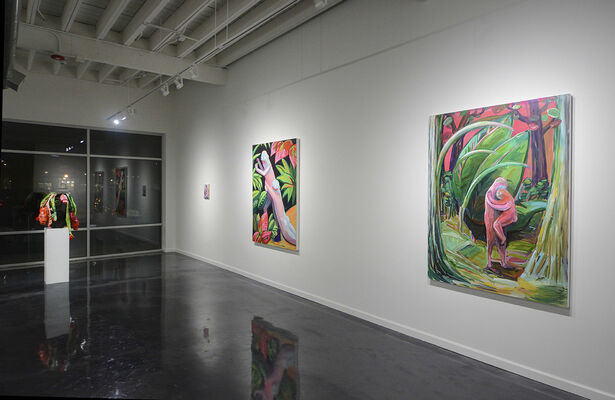 Down in the Valley, installation view