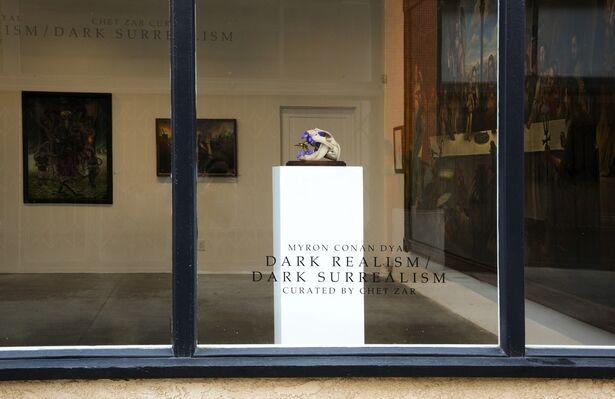 DARK REALISM / DARK SURREALISM, installation view