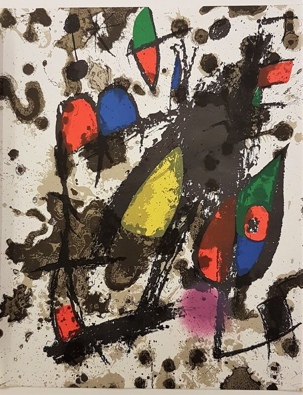 Joan Miró, 'Lithographie Originale (Cover)', 1975, Print, Color Lithograph, Cerbera Gallery