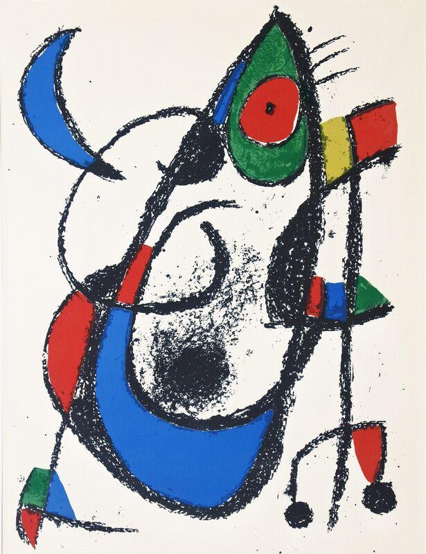 Joan Miró, 'Lithograph II no 14', 1975, Print, Color Lithograph, Hans den Hollander Prints