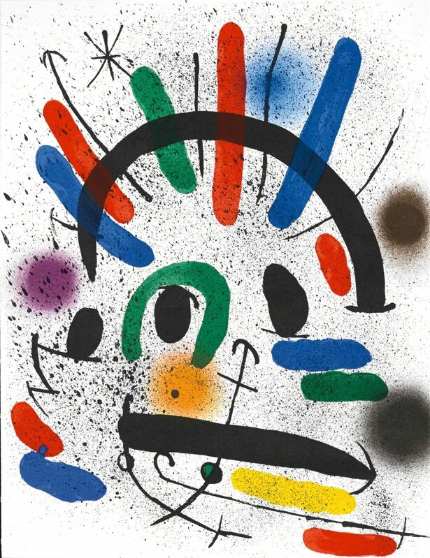 Joan Miró, 'Untitled (Lithographe I, M.858)', 20, Print, Lithograph, Martin Lawrence Galleries