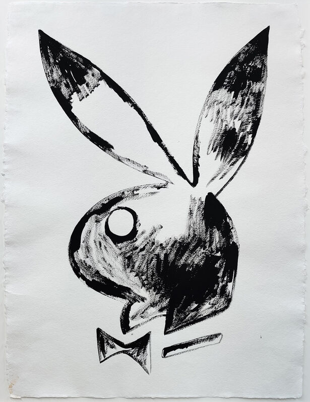 Andy Warhol, 'PLAYBOY BUNNY', 1985, Drawing, Collage or other Work on Paper, SYNTHETIC POLYMER PAINT ON HMP PAPER, Gallery Art