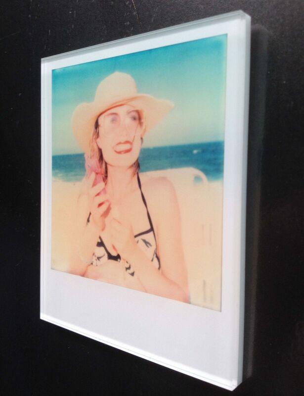 Stefanie Schneider, 'Stefanie Schneider's Minis 'Untitled #11' (Beachshoot) featuring Radha Mitchell', 2005, Photography, Lambda digital Color Photographs based on a Polaroid, mounted: sandwiched in between Plexiglass, Instantdreams