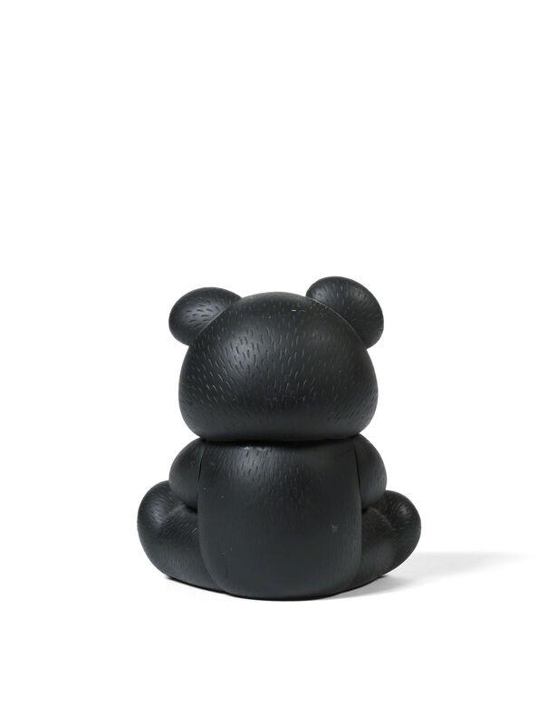 KAWS, 'UNDERCOVER BEAR COMPANION (Black)', 2009, Sculpture, Cast vinyl, DIGARD AUCTION