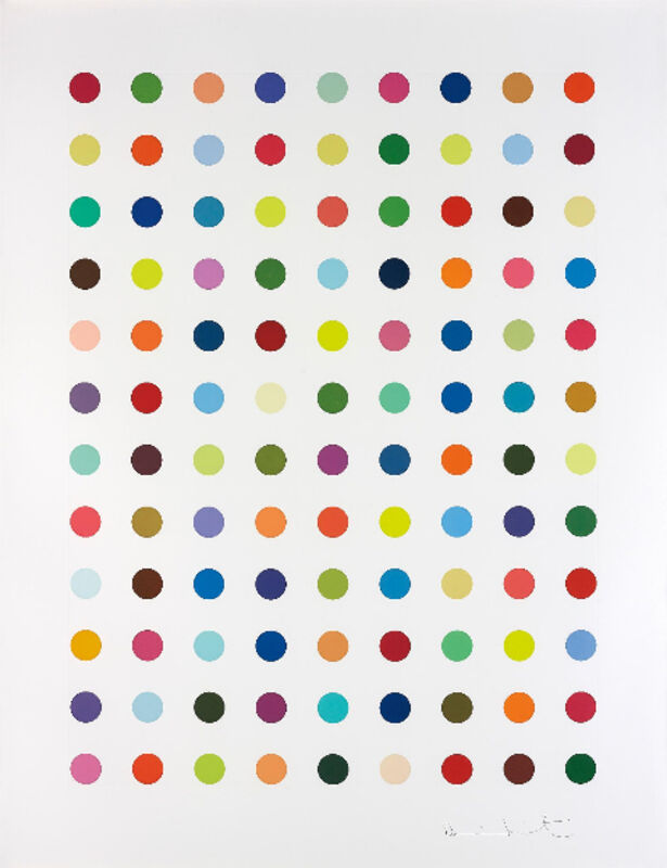 Damien Hirst, 'Flumequine', 2007, Print, Aquatint in colors, on Hahnemühle etching paper, with full margins, Upsilon Gallery