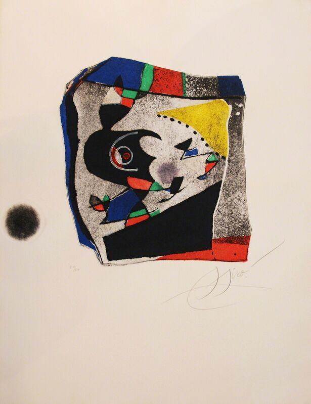 Joan Miró, 'Gaudi IX', 1979 , Print, Etching, Bogena Galerie