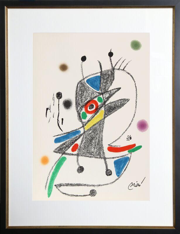 Joan Miró, 'Maravillas con Variaciones Acrosticas en el Jardin de Miro, Number 4', 1975, Print, Lithograph, RoGallery