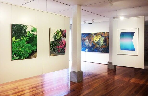 10 Years 10 Artists, installation view
