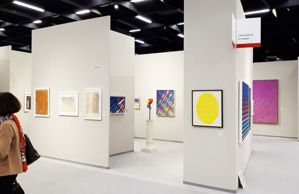 Galerie Valentien at Art Cologne 2019, installation view