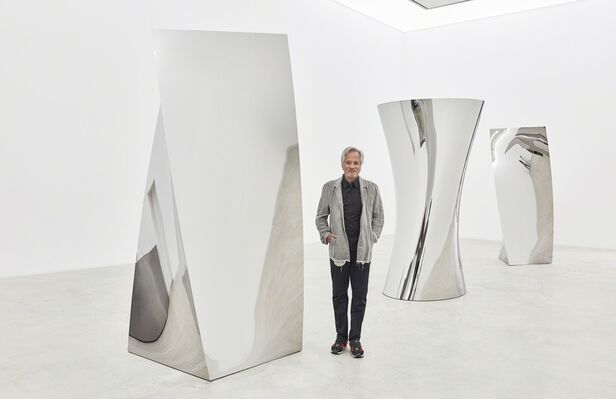 Anish Kapoor Gathering Clouds, installation view