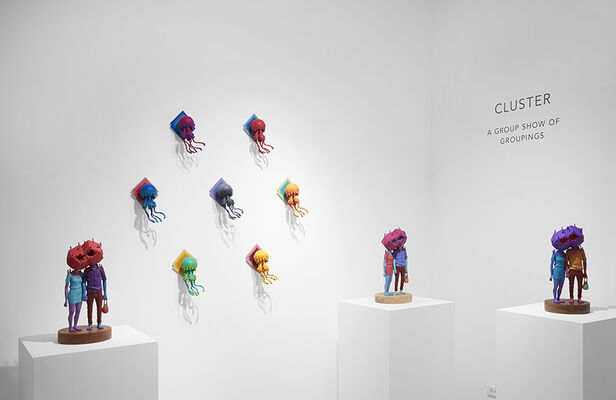 Cluster: A Group Show of Groupings, installation view