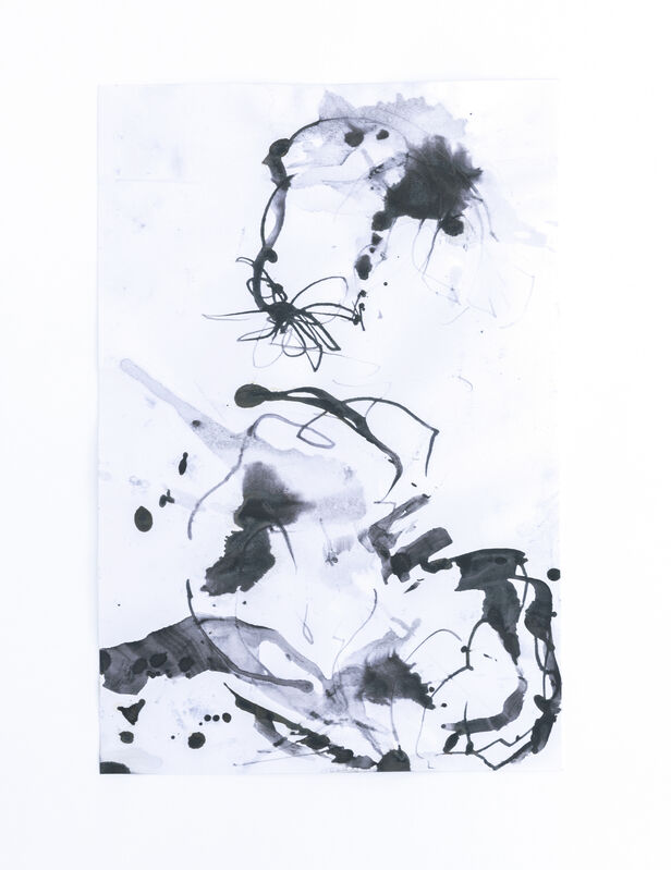 Amanda Millet-Sorsa, 'Movements in Spring', 2020, Drawing, Collage or other Work on Paper, Oak gall, honey, gum arabica, iron rust water ink on paper, SHIM Art Network