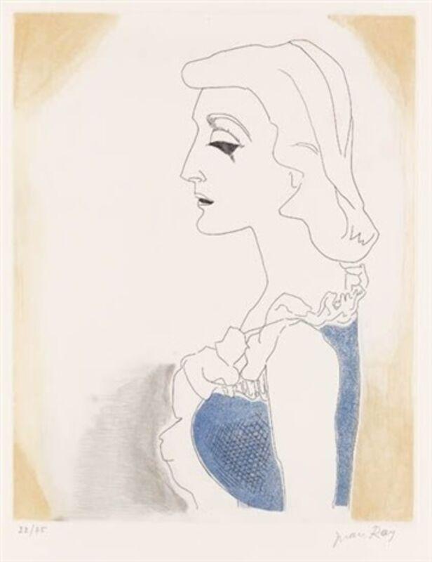 Man Ray, 'La ballade des dames hors du temps', 1971, Print, Etching and Aquatint, Composition.Gallery