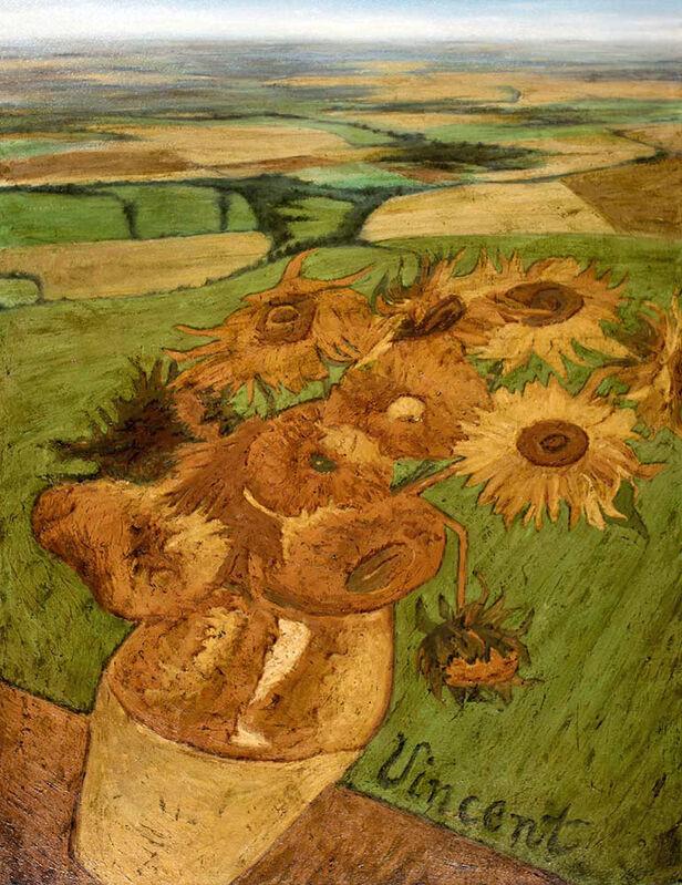 Ben Steele, 'Sunfield', Painting, Oil on canvas, CODA Gallery