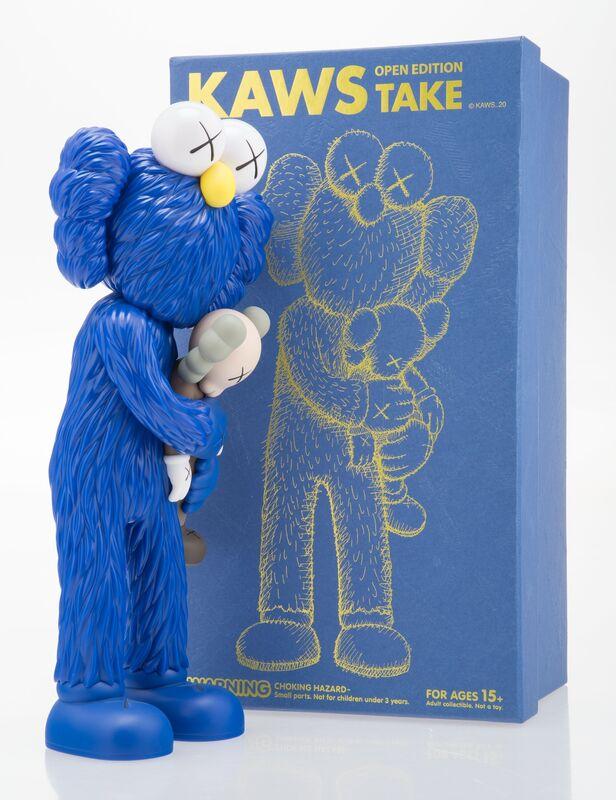 KAWS, 'Take (Blue)', 2020, Sculpture, Painted cast vinyl, Heritage Auctions