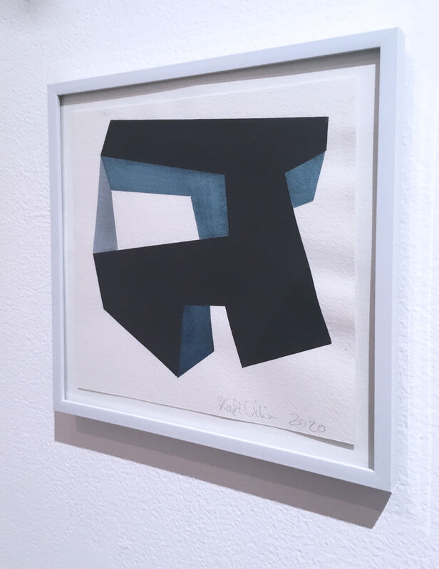 Kati Vilim, 'Almost Objectified IV', 2020, Drawing, Collage or other Work on Paper, Watercolor on paper, Deep Space Gallery