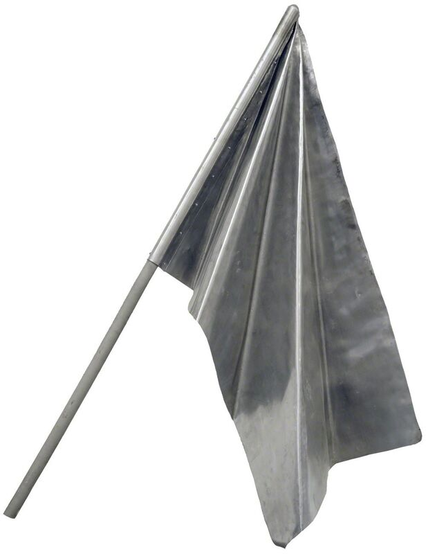 Alexander Povzner, 'Flag', 2013, Sculpture, Aluminium, wood, XL Projects