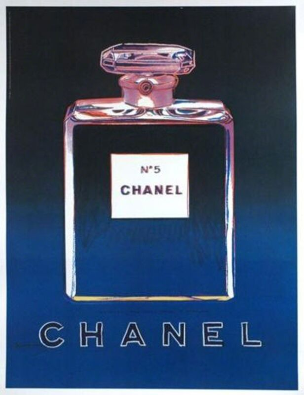Andy Warhol, 'Chanel No. 5, 1997', ca. 1997, Ephemera or Merchandise, Offset lithograph mounted on linen backing, EHC Fine Art