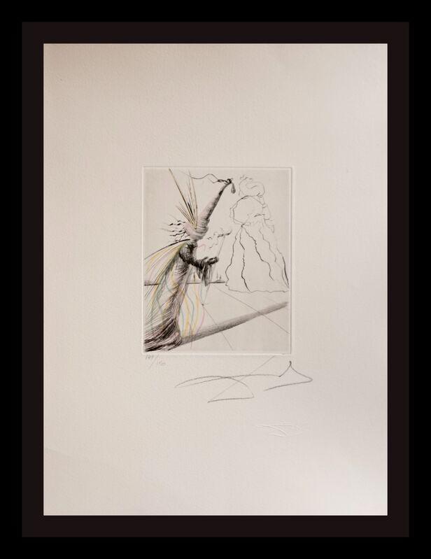Salvador Dalí, 'The Magicians L'Illusioniste', 1968, Print, Etching, Fine Art Acquisitions Dali