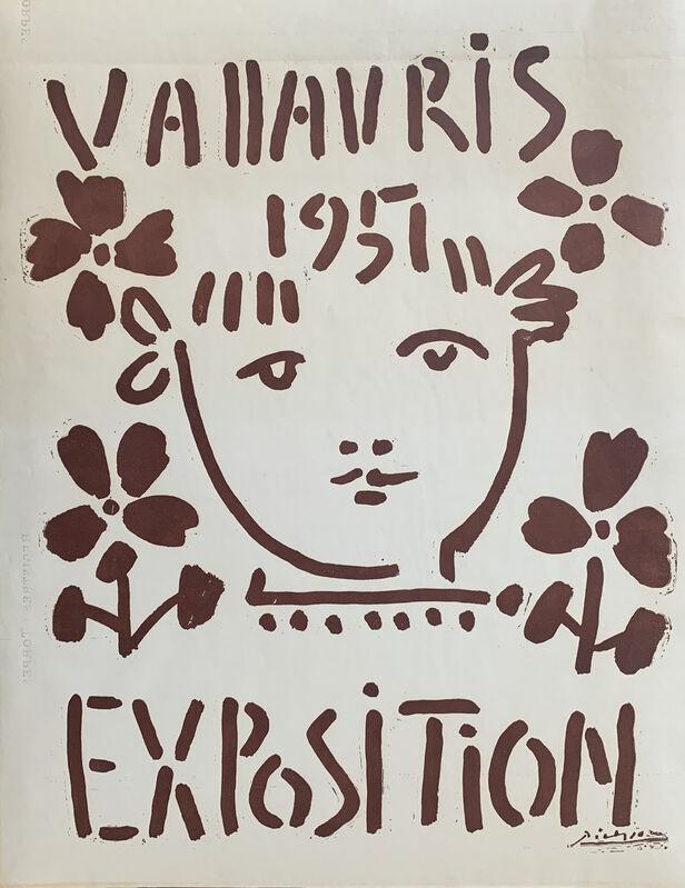 Pablo Picasso, 'Vallauris 1951 Exposition', 1951, Print, Original poster, Galerie Fetzer