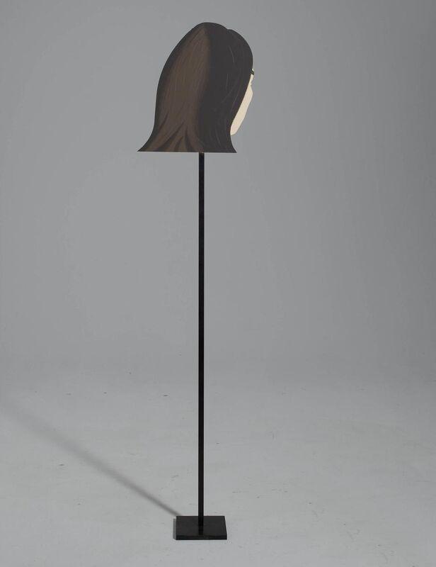 Alex Katz, 'Ada', 1999, Sculpture, Silkscreen on aluminium on bronze column, Van Ham