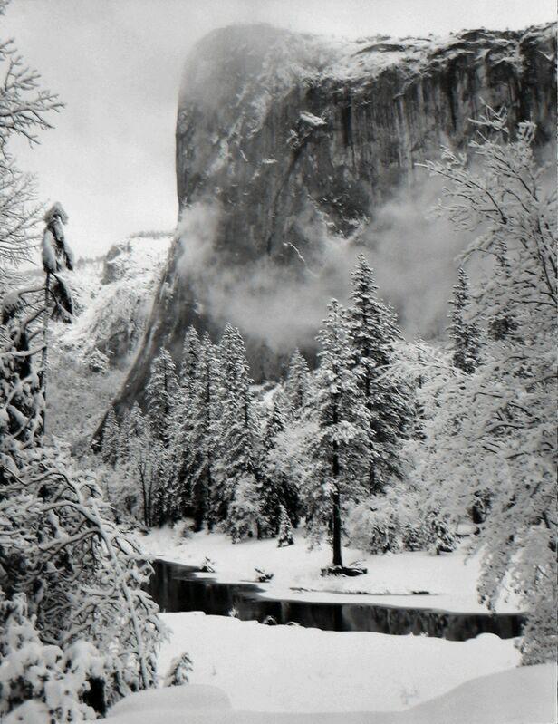 Ansel Adams, 'El Capitan, Winter, Yosemite National Park', 1952, Photography, Gelatin silver print, G. Gibson Gallery