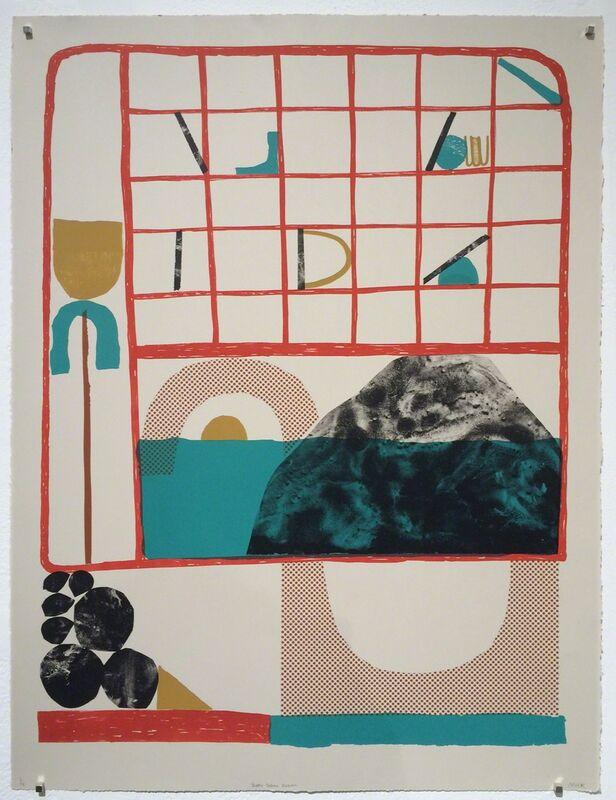 Mick Burson, 'Happy Saturn Return', 2017, Print, Lithograph, Richard Levy Gallery