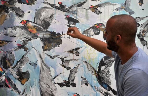 Frank David Valdés, installation view