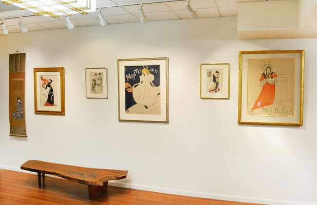 DEMIMONDE: The Floating World & Toulouse-Lautrec, installation view