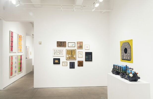 Grand Salon: The Visionary Eye of Allan Stone, installation view
