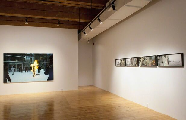 The Created Image, installation view