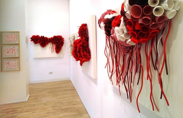 Solo Exhibition - Ghizlane Sahli 'Histoires de Tripes – Chapter II', installation view