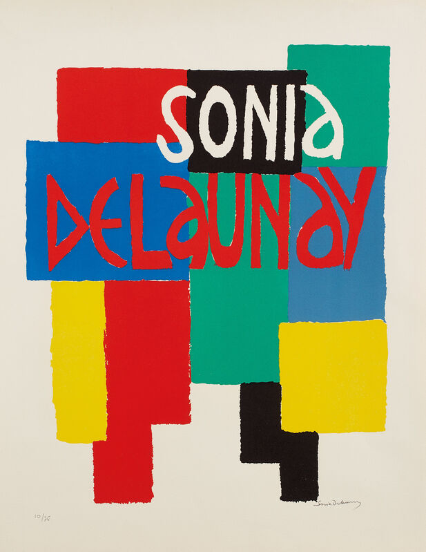 Sonia Delaunay, 'Sonia Delaunay, Musée National d'Art Moderne Paris', 1967, Print, Lithograph in colors, on Arches paper, with full margins., Phillips