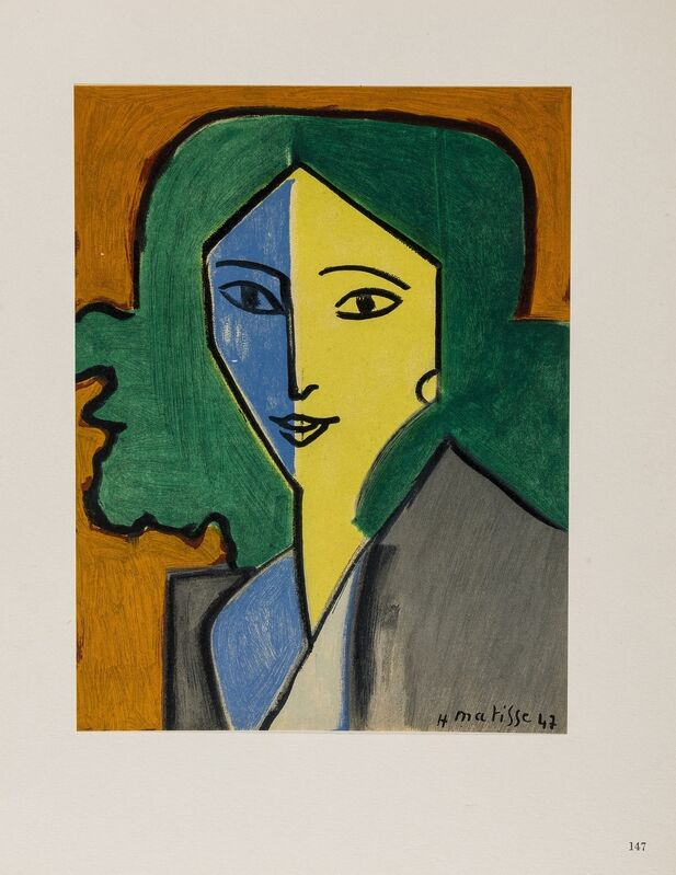 Henri Matisse, 'Portraits (Duthuit 33)', 1954, Books and Portfolios, The book, Forum Auctions