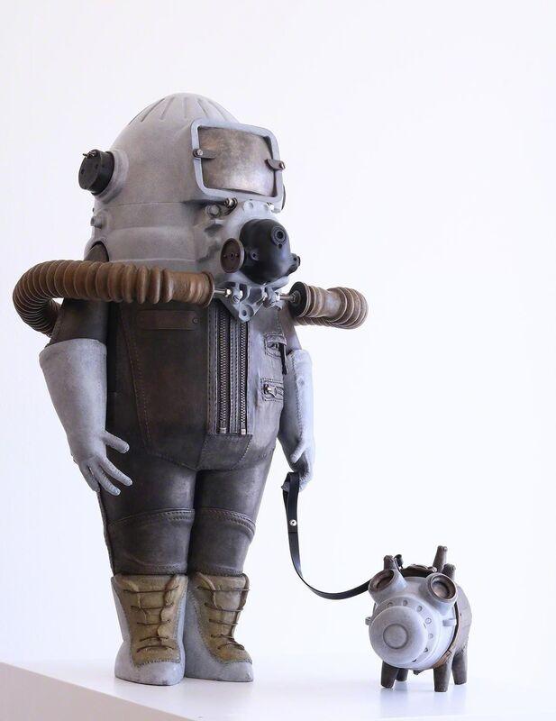 Stéphane Halleux, 'Gazenko & Mouchka', 2017, Sculpture, Bronze sculpture (lost wax), Absolute Art Gallery